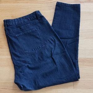 d. jeans skinny leg dark wash jeans